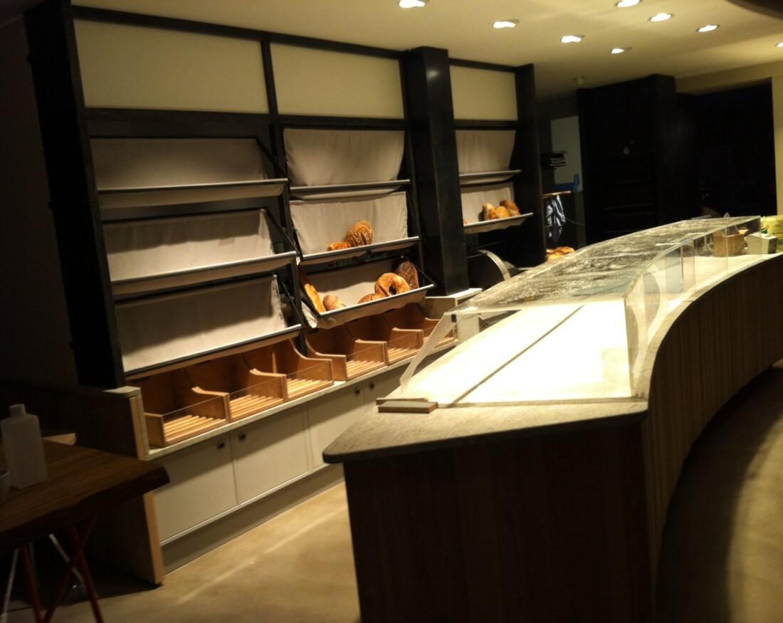 Ladenbau München Brotshop