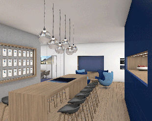 Bürokonzept München 3D